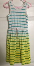 Carter's 4t Girls Dress~nautical Striped~palm Tree~summer