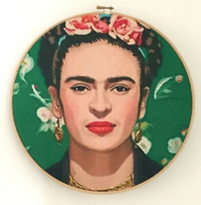 Frida Kahlo wall art, Frida painting, Frida Kalho art for wall, Frida hanging