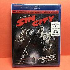 Sin City(Blu-Ray/2011)Miller/ Rodriguez Jessica Alba/B Del Toro/Murphy/Willis New