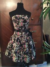 Jessica McClintock Floral Dress Size 4