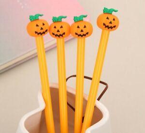 Halloween Pumpkin Pen Stationery Kawaii Party Loot Bag Supplier Cute Novelty