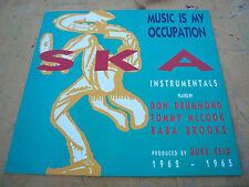 music is my occupation   1988 original  uk trojan label lp trls 259 nr mint