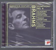 BERNSTEIN CD NEW BRAHMS SYMPHONY 4