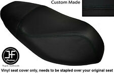BLACK VINYL CUSTOM FITS APRILIA SPORTCITY 50 2T 08-12 DUAL SEAT COVER ONLY