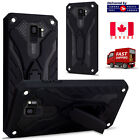 Samsung Galaxy A5 A8 2018 S7 S8 S9 S10 Plus Heavy Duty Armour Builder Stand Case