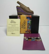 Just The Right Shoe Golden Leaf 1999 by Raine Willitts Designs w/Box and Coa