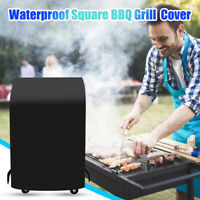 Small Space BBQ Grill Cover Heavy Duty Waterproof Square BBQ Cover for Camping