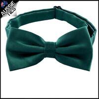 Forest Dark Green Bow Tie Men's Bowtie