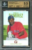 2003 topps pristine refractors #158 HANLEY RAMIREZ rookie BGS 9.5 (10 9.5 9.5 9)