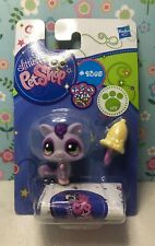 Authentic Littlest Pet Shop # 2385 NIB Purple Glitter Sparkle Sugar Glider Euro