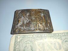 Vintage Indiana Metal Craft C.5 Belt Buckle.  Greek? Mythology?