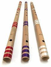 "Professional Concert Flute Scale AA/D 32"" Bansuri Bamboo Transverse Top Quality"