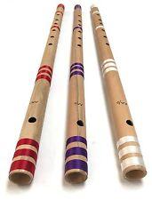 """Professional CONCERTO FLAUTO SCALA AA/D 32"""" Flauto Indiano BAMBOO trasversale di alta qualità"""