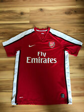 ARSENAL FC shirt jersey 2008/10   Nike football   Medium MEN FREE WORLDWIDE POST