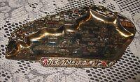 Vintage Kentucky Gold Metal Souvenir Ashtray