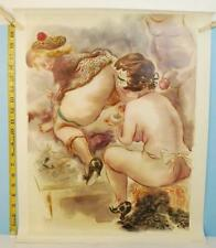 George Grosz Watercolor The Bordello in Germany From The Sex Forum SF 1973