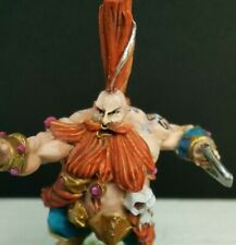 Blood Bowl Grim Ironjaw Dwarf Troll Slayer Star Player Forge World Pro Painted
