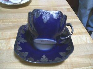 Antique Depose Paris France Limoges? Porcelain Cup Saucer RARE!!!