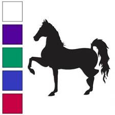 Horse Trotting Decal Sticker Choose Color + Large Size #lg898