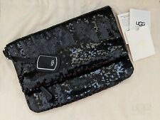 UGG Australia Sparkle Clutch Purse Bag - Black sequin - excellent condition