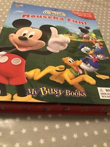Mouseka Fun Busy Book Mickey mouse New Disney