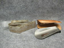 "Vintage Advertising Park Shoes Meadville Pa Shoe Horn & Rain Bonnet Set 4"" Long"