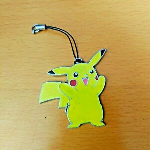 """Pikachu  2""""  Mobile Phone chain (Phone Strap with charm 1.7"""")"""