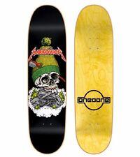 "Cliche X 101 Kris Markovich SKULL 8.5"" SCREENPRINTED Skateboard Deck Sean Cliver"
