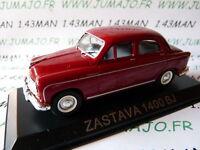 Coche 1/43 IXO DEAGOSTINI Balcanes : ZASTAVA 1400 BJ (Fiat 1400)