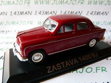 Voiture 1/43 IXO DEAGOSTINI Balkans : ZASTAVA 1400 BJ (Fiat 1400)