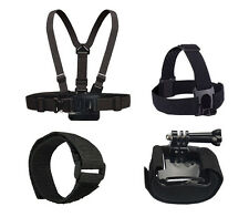 Chest Harness Head Mount Wrist Strap For Gopro HD Hero 2 3 3+ 4 Camera Go Pro