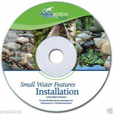 Small Water Features Installation-DVD video -how to - pond-waterfall-fountain