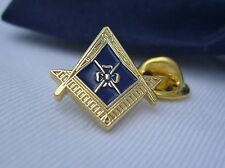 Masonic Lodge Officer DC Director Of Ceremonies Jewel Lapel Pin Plus Gift Pouch