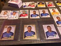 2018 Panini World Cup Huge 158 card lot Russia Kylian Mbappe Sticker Gold x 2