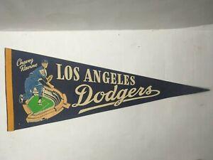 LOS ANGELES DODGERS BASEBALL PENNANT 1960s
