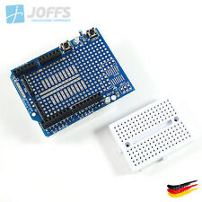 Proto Shield V5 Prototyping Board für Arduino Uno inkl. Mini Breadboard