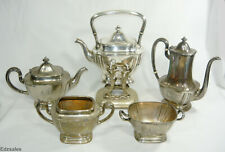 Gorham Silver Plated 5 Piece Serving Tea Coffee Set
