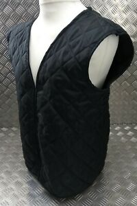 Genuine British RAF  Air-force Issued Black Quilted Jacket Liner Assorted Sizes