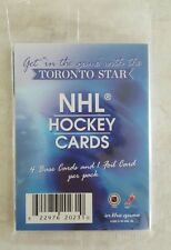 2003-04 IN THE GAME TORONTO STAR PROMO PACK SEALED ZETTERBERG