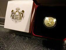 2 Euro Monaco 2007 Grace Kelly Gedenkmünze  mit Schuber und Box Stempelglanz