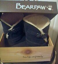Bearpaw ANNIE Suede/Wool/Sheepskin PLUSH MidCalf Boot NAVY 7M