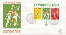 284139 / Niederlande Suriname FDC Olympia 1980