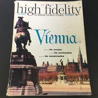 VTG High Fidelity Music Magazine November 1959 - Vienna Music and Orchestra