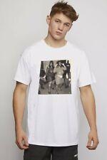 New Love Club Designer T-shirt White Zigga Girls Nice Design Size Small New