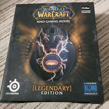 SteelSeries 62050 WOW World of Warcraft Legendary Edition MMO Gaming Mouse
