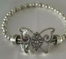 BRIGHTON Color Clique Cord Butterfly Bracelet Set