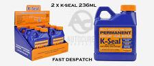 2 x K-Seal Permanent Coolant Leak Repair K5501 Head Gaskets Radiators Sealant
