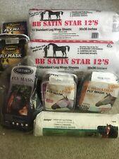 Equestrian Horse Lot Masks Legs Wraps Padding