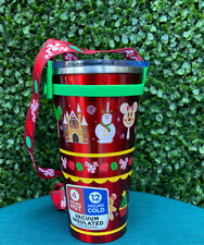 DISNEYLAND HOLIDAY TUMBLER ~ DISNEY PARKS EXCLUSIVE NEW 2020 ~ IN HAND