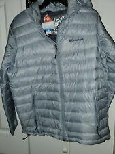 Columbia Men's  Omniheat Down Puffer Jacket Gray Size Medium new